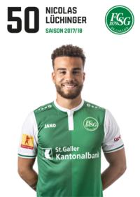 Nicolas Lüchinger, FC SG